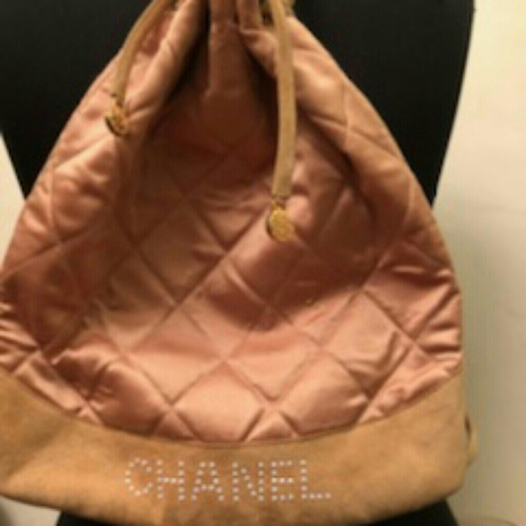 CHANEL Handbags - Chanel RARE PINK Vintage Backpack